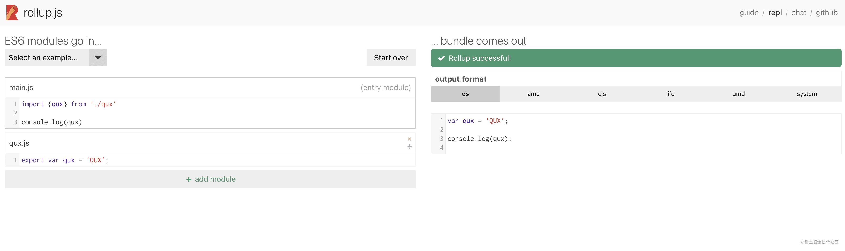 module-build-result