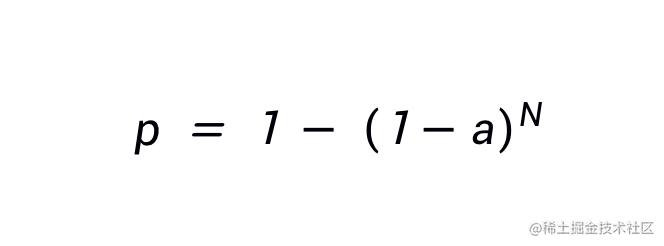 中奖概率计算公式