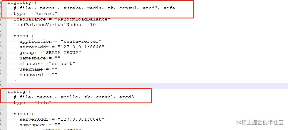 registry.conf 文件配置