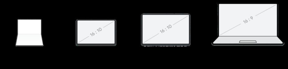 △ 由于可折叠和大屏设备的窗口尺寸是可变的,使用自适应布局比根据屏幕尺寸分割体验效果更好