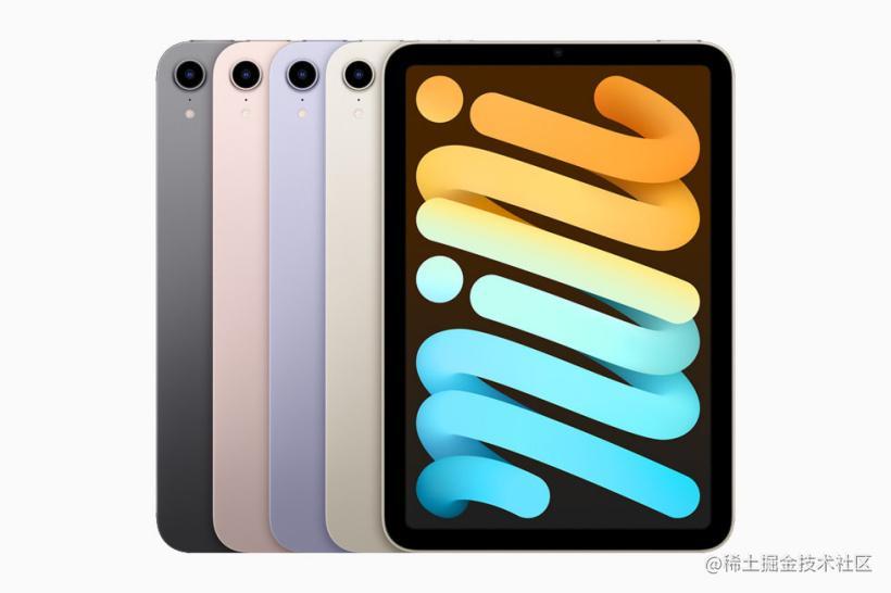 全新 iPad mini 配色。