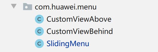 鸿蒙开源第三方组件——SlidingMenu_ohos侧滑菜单组件
