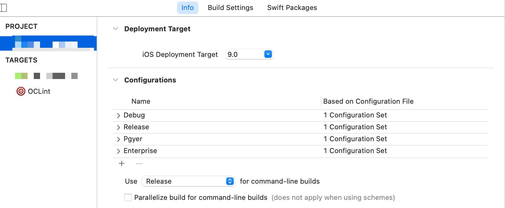 build config