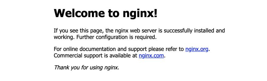 Nginx网页
