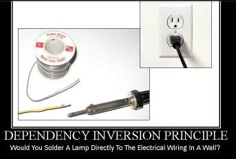 你会把灯直接焊接到墙里的电线上吗?