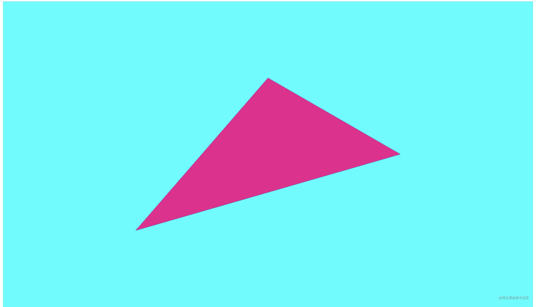 webgl triangle