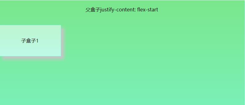 justify-content-flex-start