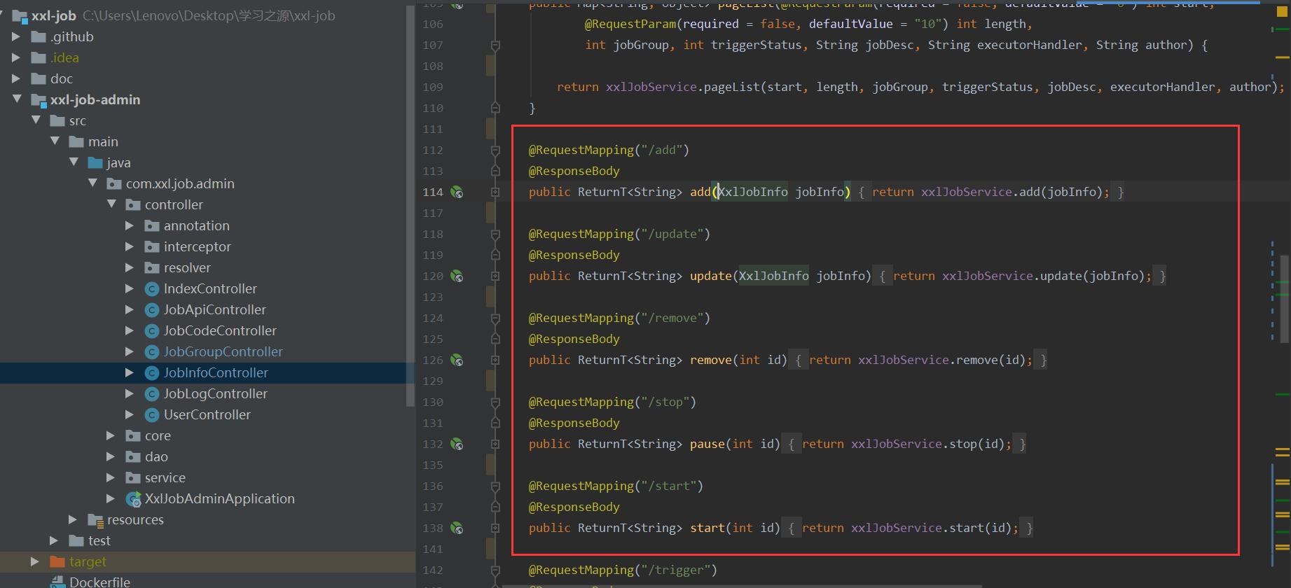 xxl-job-interface