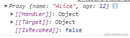 reactive将传递的对象包装成了proxy对象