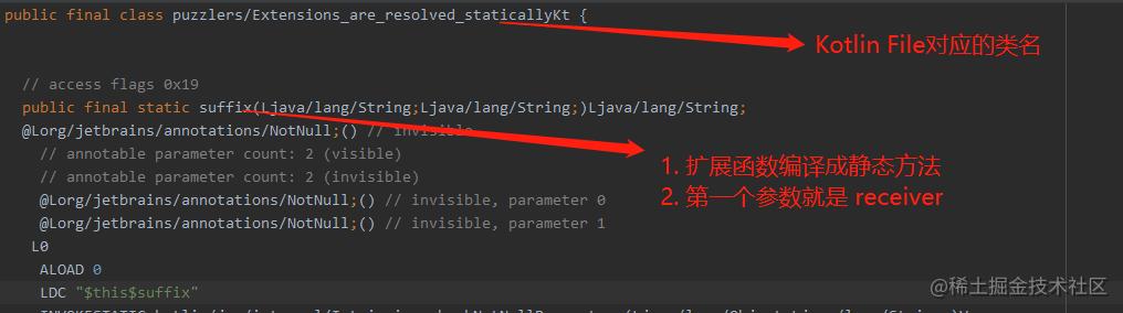 扩展函数字节码