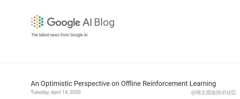 谷歌官方博客截图