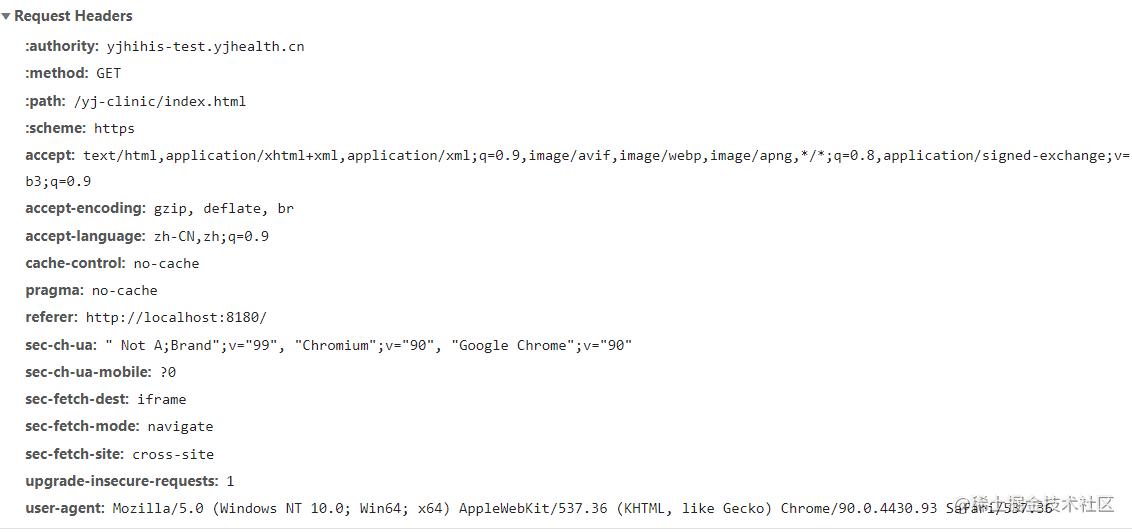 chrome下重定向的页面请求.png